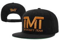 Free shipping Active the money team TMT  Snapback,men and ladies sun hats,Raised Embroidery Letter on Front Middle.