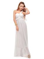 HOT! Goddess star noble temperament chiffon dress with small white flowers shoulder dress women dress,free shipping