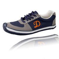 Men lacing casual canvas shoes low shoes breathable casual sports shoes flat men's