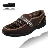 Cotton-made beijing shoes Men casual single shoes foot men's wrapping comfortable light male
