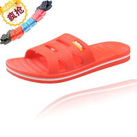 Bathroom slippers slip-resistant home slippers indoor at home summer female lovers plastic floor slippers