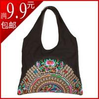 New arrival 2013 vintage national trend embroidered shoulder bag embroidered picture bag personalized women's handbag