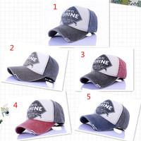 High quality 2014 New Fashion Men Women Unisex Baseball Caps Outdoor Sport Do Old Vintage Retro Adjustable Peaked Hats