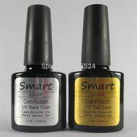 Free Shipping  2Pcs/lot  2014 New Gelexus Shellac Soak Off UV Gel Polish (1pc base gel+1pc top coat)