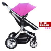 Superacids gubi shock baby stroller folding double wheelbarrow
