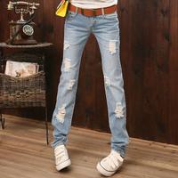 2014 spring women's slim pencil pants jeans denim skinny pants trousers