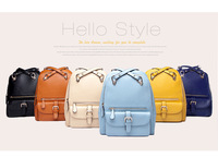 free shipping 2014 multi-funtional bag casual fashion school bag  travel bag women's backpack with free gift