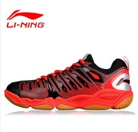 Free shipping/li ning badminton shoes professional sport of breathable antiskid male Lin TD edition combat boots