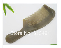 Natural yak horn comb 18cm anti-static horn comb