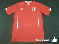A+++ Top Thailand 14 Brazil world cup Switzerland Futbol Soccer Jersey Swit football shirt Swiss kit