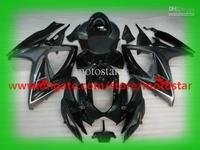 Wholesale - OEM Injection molding For 2006 2007 SUZUKI GSX-R600 GSX-R750 06 07 GSXR 750 600 GSXR600 K6 black gray fairing kit K6