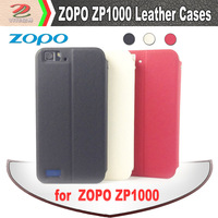 Original Holder Flip Leather Case for ZOPO ZP1000, Stand case, brand new, zopo1000 smart phone accessories, free shipping