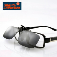 Ultra-light Clip Sunglasses Day and Night Vision Polarized UV400 Anti-reflective, Free Shipping