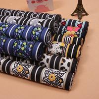 Vb 100% cotton linings printed cloth print vintage handmade diy clothes bags fabric 110cm