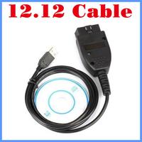 [10pcs/lot] [Chips ATMEGA162 and FTDI232RL]Wholesale VAG  USB Interface cable  for audi/vw skoda seat