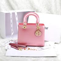 2014 women's handbag d bag mirror patent leather bags