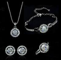 free shipping fashion bridal jewelry sets,gold plated jewelry set,TZ-2238-1
