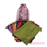 "Free shipping!20 PCS jacquard high heels wholesale bags ""36 x28cm"" shoe bag,clothes High heels receive bag"