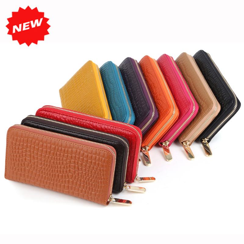2015 Hot Selling Women Wallets Genuine Leather Purse,Fashion Stone Pattern Day Clutch Zipper Bag, YW-DM528(China (Mainland))