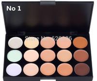 New Professional 15 Colors Concealer Camouflage Makeup Neutral Palette mc concealer 120pcs supply