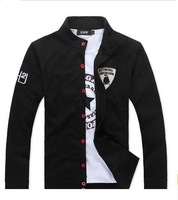 new style Mens fashion Hoodies cardigan men's casual stand collar jacket coat men suit design 35