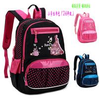 Promotion  !  Child school bag primary school students school bag girls male burdens backpack waterproof  free  shipping