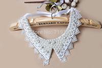 New Arrival Handmade False Collar Necklace acrylic pearl  necklace fake collar high quality handmade dress,1pcs/lot