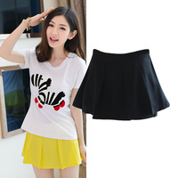 2014 summer women's fashion casual pants skirt summer female shorts mid waist