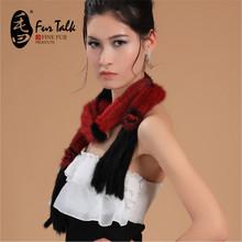 popular mink fur scarf