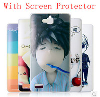 New Arrival Fashion High Quality PC Case for Huawei Honor 3C Case Cover with Screen  Protector