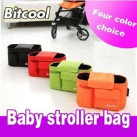 Free shipping baby Stroller multifunctional bag organizer bag handbag travel bag four color for option