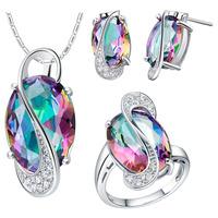Free shipping, 2014 new crystal jewelry set, fashion jewelry women,  gold plated jewelry set T472