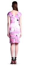 popular silk jersey dress