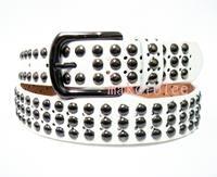 Personality casual trend of the hip-hop punk Women sb's belt male fashion belt strap rivet