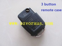 V w  3 button remote case & car remote key shell & car key blank
