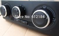 3PCS/SET Car AC Heat Control Knobs For  Skoda Octavia Fabia  car air conditioning control knob accessories