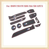 Car Cup Mat Interior Door mat 11pcs for BMW