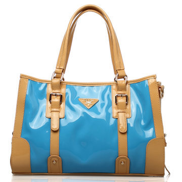 Hong Kong OPPO bags 9768-2 European and American fashion glossy patent leather shoulder handbags Mobile Messenger 2014 new(China (Mainland))