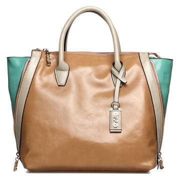 Hong Kong OPPO female bag large bag 2014 spring new European and American big fashion hit color handbag diagonal package 11081(China (Mainland))