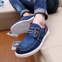 New 2014 Denim korean style shoes for men Cheap Mens Fashion Casual Sneakers canvas shoe wholesale chaussures