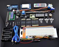 Starter Kit UNO R3 Step Motor Servo 1602LCD Breadboard RGB module led for Arduino's