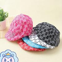 New arrival baby forward cap child cap newborn beret 1 - 4 year