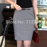 2013 new Korean version of the suit career short skirts rendering package hip skirt    q412