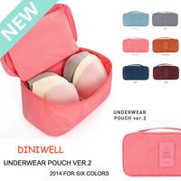 New 2014 Fashion men Women's Bag handbags Waterproof travel wash cosmetic bag multifunctional Underwear Bras pouch Storage bags