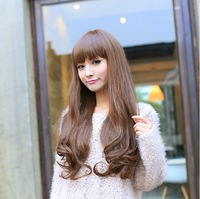 High Quality Fashion Lady Girl 60cm Wigs Synthetic Material Cheap Price Free Shipping