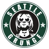 High quality  Nirvana Kurt Cobain Seattle Grunge funny rock band casual fashion tee t-shirt dress camiseta clothing