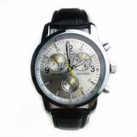 Free shipping men leisure business 3 needle decorative calendar quartz watch