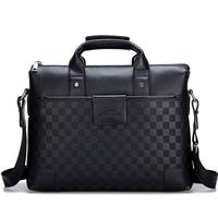 NEW 2014 Men's Bags Fashion Shoulder Bag Men Messenger Bags PU Leather Crossbody Briefcase Men Business Bag Tote Black and Brown