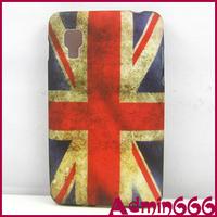For LG Optimus L4 II E440 New Retro UK Flag United Kingdom Flag TPU GEL Soft Case For LG Optimus L4 II E440 E445 Case