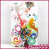 For LG Optimus L4 II E440 New Colorful Circle Butterfly Flower TPU GEL Soft Case For LG Optimus L4 II E440 E445 Case